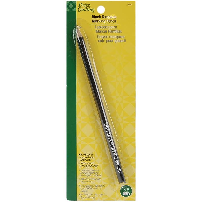 Dritz 3080 Template Marking Pencil, Black