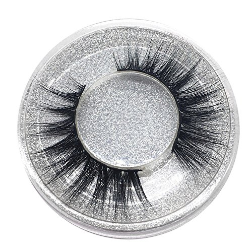 Falsche Wimpern, 1 Paar Luxus 3D Falsche Wimpern Streifen Flauschigen Wimpern Lange NatüRliche Partei Makeup Style Wimpern-3D-18 (Einheitsgröße, Schwarz)