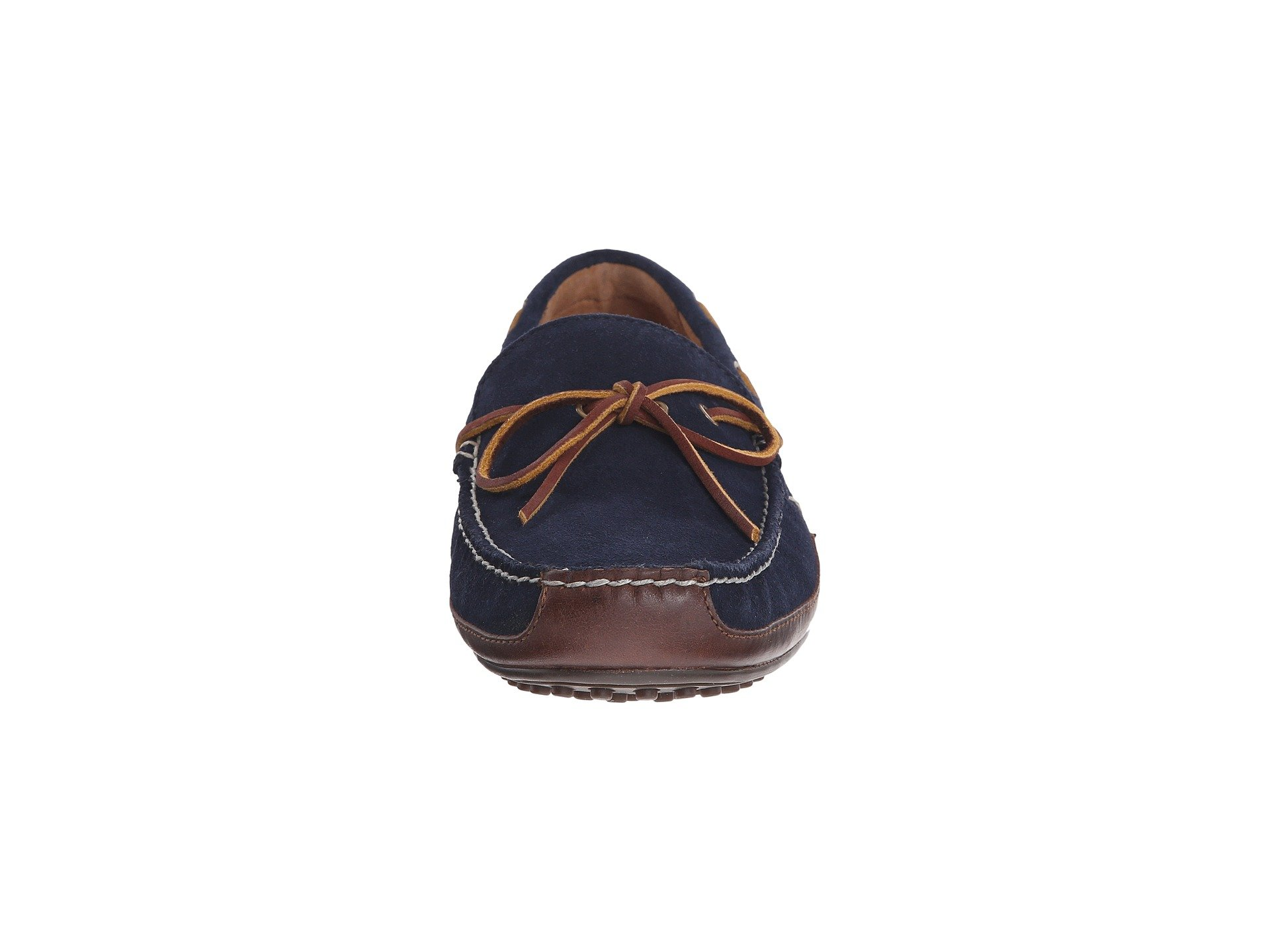 Smooth Suede Lauren Wyndings Ralph Oil Leather Tan Navy sport Polo newport HYf7v