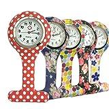 Reloj Silicona Reloj de Bolsillo de la Enfermera Doctor Paramédico Túnica...