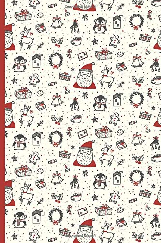 Santa Claus Christmas | Blank Lined Journal Notebook: For Writing Notes or Journaling