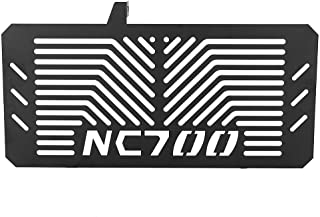 New Stainless Steel Motorcycle Accessories Radiator Guard Radiator Protector Grille Cover for Honda NC700 NC700S NC700X 2012-2016 (Black)