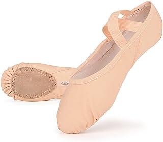 680415dee3906 Skyrocket Flying Filles Femme Demi Pointe Toile Chaussures de Ballet  EU25~44 Doux Chaussons de