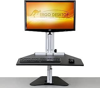 Ergo Desktop Kangaroo Pro in Black