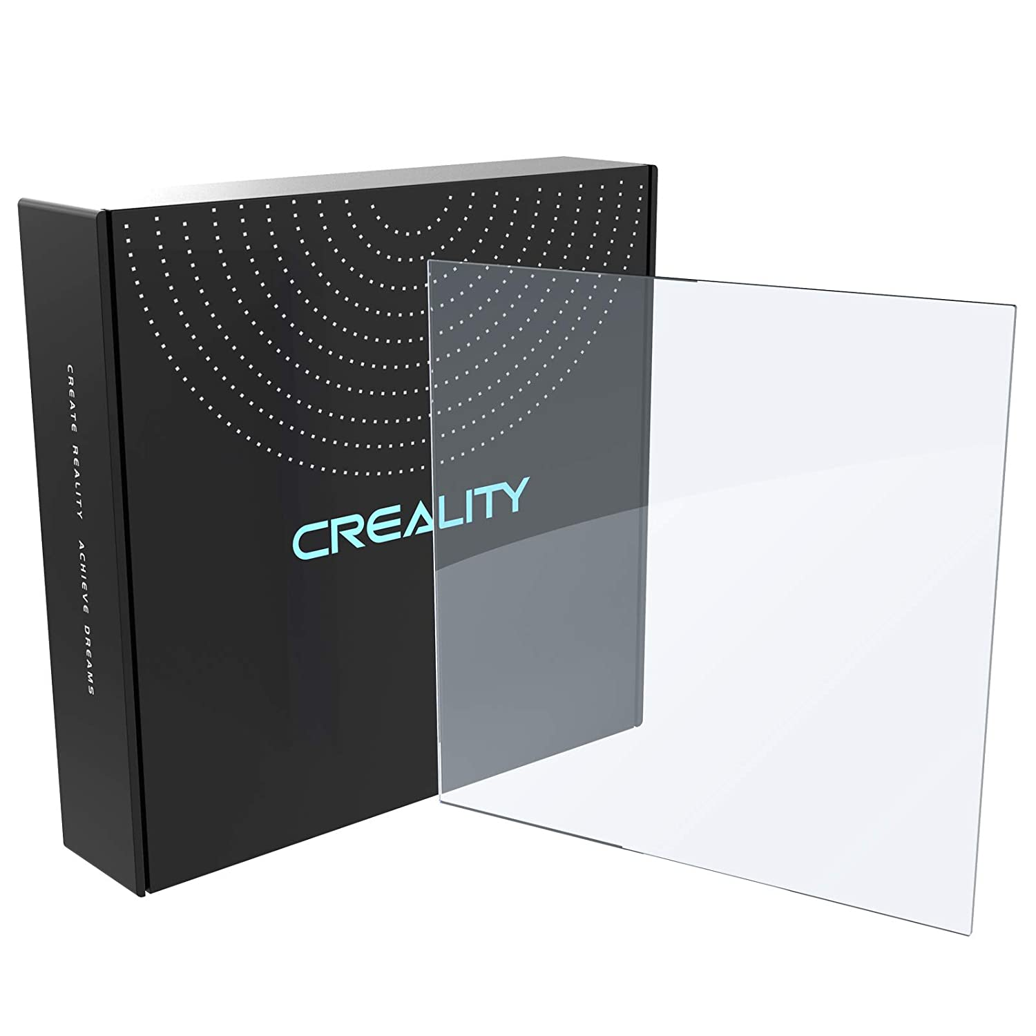 Creality Recommended Ender 3 Borosilicate Oklahoma City Mall 235x235x4mm Bed Glass