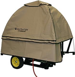 GenTent 10k Generator Tent Running Cover - Universal Kit - 3000w-10000w Portable Generators (Standard, TanLight)