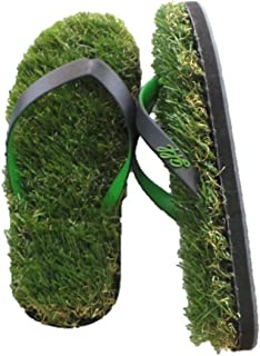 Grass Flip Flops with Anklet
