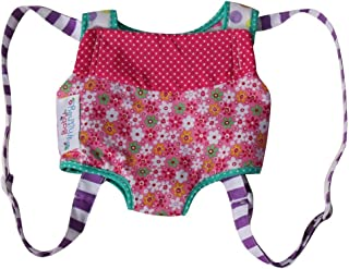 Large Patchwork Front Carrier for Dolls or Stuffed Animals