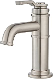 Pfister Price Breckenridge Single Control, Centerset Bath Faucet, Brushed Nickel