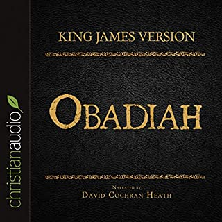 Holy Bible in Audio - King James Version: Obadiah audiobook cover art