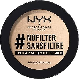 Best nyx nofilter finishing powder light beige Reviews