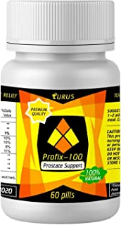 Prostate Supplements for Men - Prostate Herbal Supplements - Absolutely Natural for Prostate Health and Support - Pills Against Frequent Urination and Inflammatory of The Urinary Tract