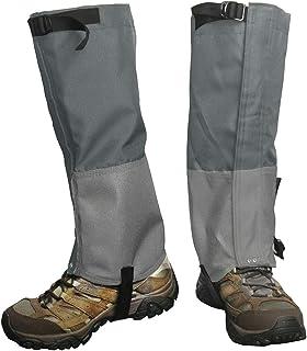 گترهای ساق پا Frelaxy ، گترهای پیاده روی با کیسه ذخیره سازی گترهای کفش برفی ضد آب ، محافظ پا مچ پا ضد پارگی فوق العاده قوی 900D Oxford برای شکار اسکی موتور سیکلت