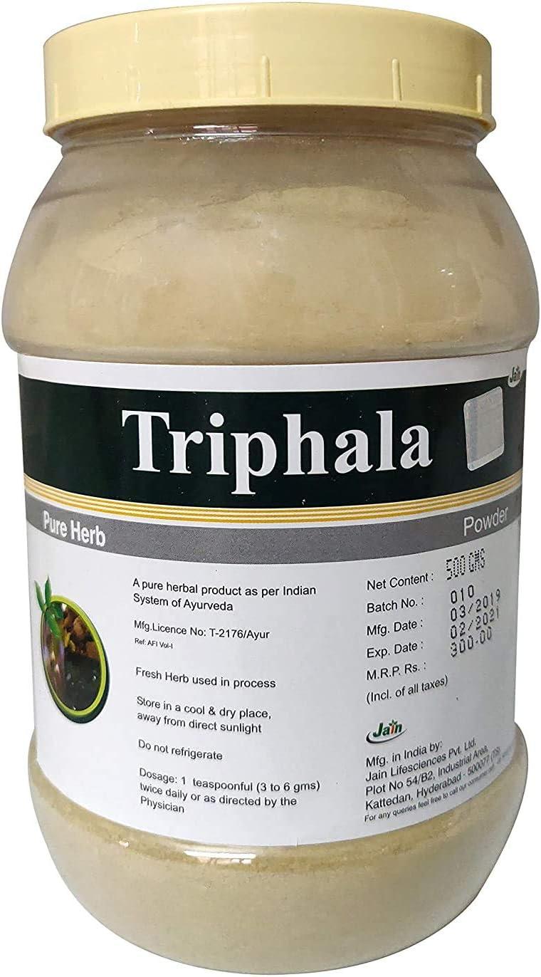 Zeeke Jain Triphala Powder Selling rankings Over item handling 500G