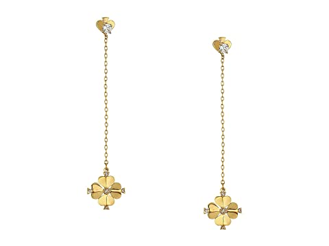 Kate Spade New York Legacy Logo Spade Flower Linear Earrings