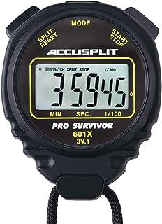 ACCUSPLIT Pro Survivor A601X stoppur, klocka, klocka, extra stor skärm