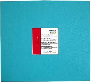 Album avec fenêtre Turquoise 315 x 355 10 Pochette