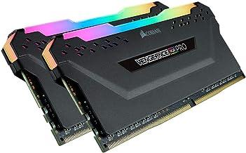 Corsair Vengeance RGB Pro 64GB (2x32GB) DDR4 3200 (PC4-25600) C16 Desktop memory–Black (CMW64GX4M2E3200C16)