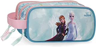 Disney Frozen Find Your Strenght Carry All Three Compartments, 22x10x9 cms, Blue