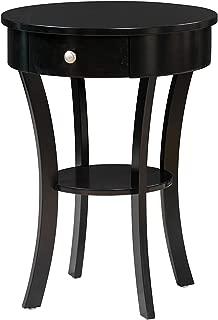 Convenience Concepts Classic Accents Schaffer End Table, Black