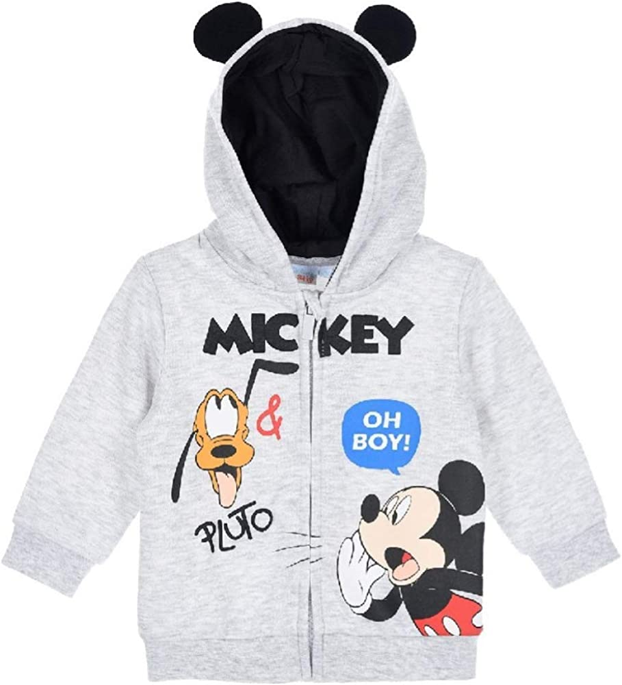 Disney Mickey Mouse Baby Jungen Pluto Oh Boy Kapuzenpullover