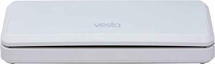 Vacuum Sealer by Vesta Precision - Vac 'n Seal | Extends Food Freshness | Perfect for Sous Vide Cooking | | Dry and Moist Food Mode | Automatic and Manual Vacuum Mode