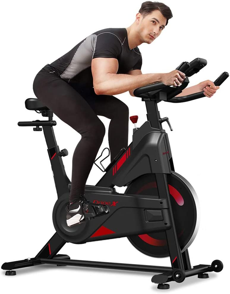 Dripex Magnetic Department store Resistance Indoor Exercise Bike 2021 Max 64% OFF Upgraded N
