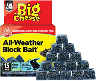 THE BIG CHEESE ALL-WEATHER BLOCK BAIT II - 15 X 10 GM - VIC1000