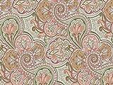 Venesto Gardinenstoff Organza Ornamente Paisley Muster