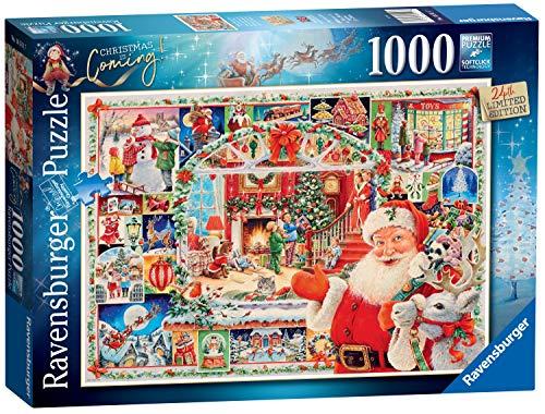 Ravensburger-Christmas Natale sta arrivando Puzzle da 1000 pezzi edizione limitata 2020 per adulti e bambini dai 12 anni in su, 16511