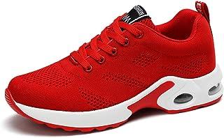 Chaussures Femme Baskets Air Cushion Running Sport Sneakers Mode Chaussures Légère Jogging Formateurs