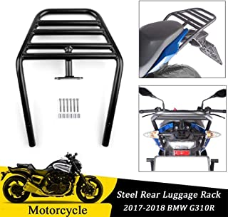 FATExpress for 2017 2018 BMW G310R Rear Luggage Rack Carrier Fender Top Mount Support w/Hardware Motorcycle Accessories