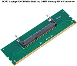 Laptop DDR3 RAM to Desktop Adapter Card, 204 Pin SODIMM to 240 Pin DIMM Memory RAM Converter
