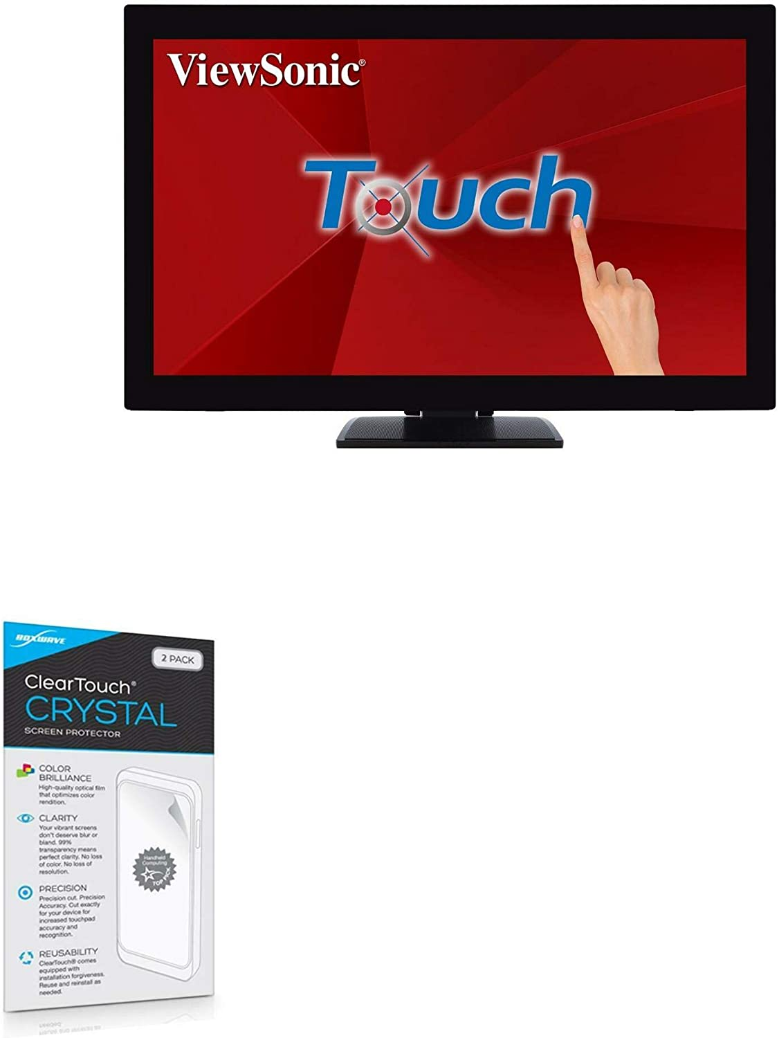 Ranking TOP9 Viewsonic TD2760 Screen Limited Special Price Protector ClearTouch BoxWave Crystal