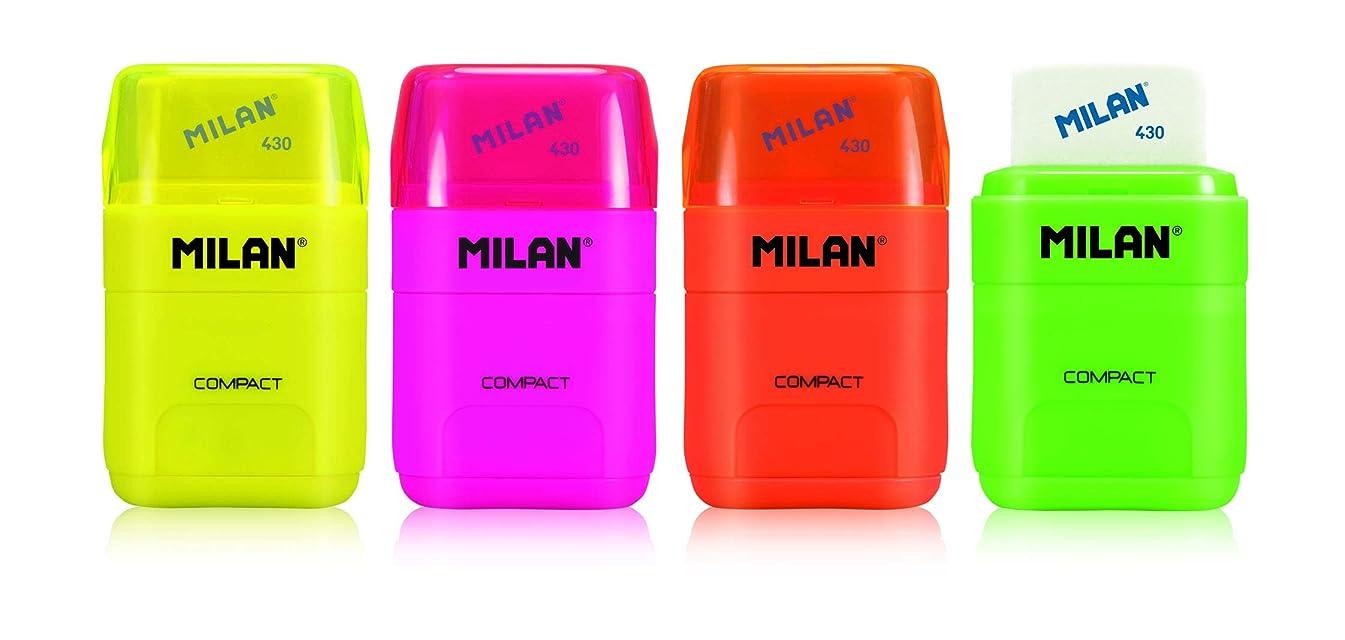 Milan Erasers, White, Small