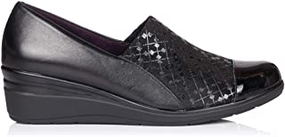 5721 Zapato Piel CUÑA Mujer