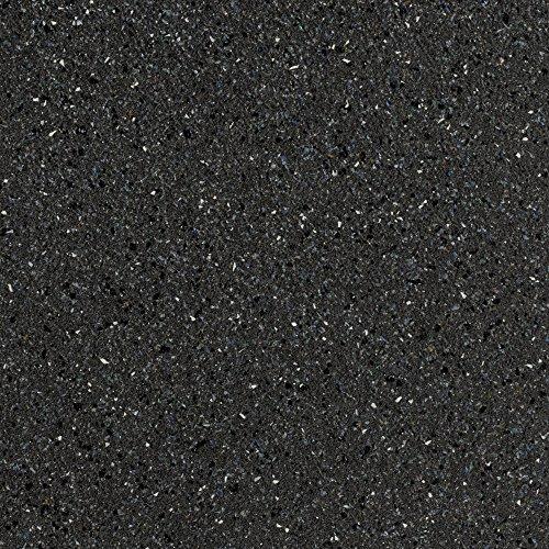 BODENMEISTER BM70569 Vinylboden PVC Bodenbelag Meterware 200, 300, 400 cm breit, Steinoptik Chip anthrazit