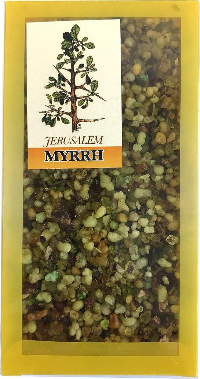 ジェムかすかなアイドルHoly Land Market エルサレムミルラ 聖地からの香り 100グラム(3.5オンス)