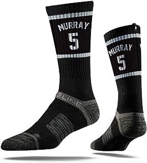 NBA San Antonio Spurs Strideline Player Crew Socks , Dejounte Murray , Dejounte Murray
