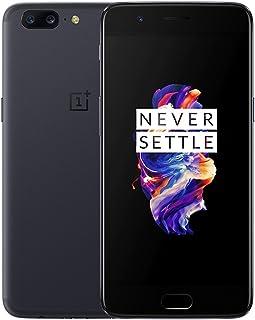 OnePlus 5 A5000 Dual-SIM 64GB Factory Unlocked 4G/LTE Smartphone (Slate Gray) - International Version