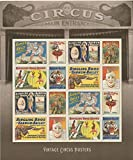 USPS Vintage Circus Posters Forever Stamps Sheet of 16 Postage Stamps 2014