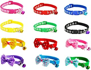 Sparklelife Soft Nylon Puppy Cat ID Collar