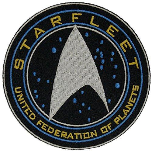 Miltacusa Starfleet Space StarTrek United Federation of Planets Hook Fastener Patch