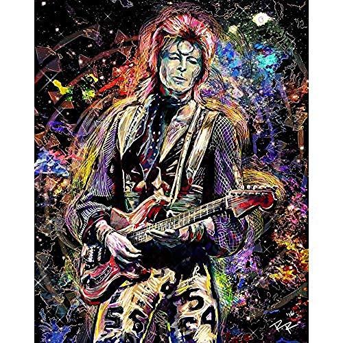 Pittura Diamante Diy 5D David Bowie Arte Ziggy Stardust Originale Bowie Pittura Mosaico Pieno Ricamo Immagine di Strass 30X40Cm