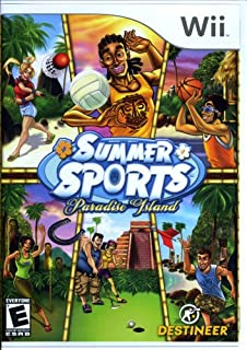 Summer Sports Paradise Island - Nintendo Wii
