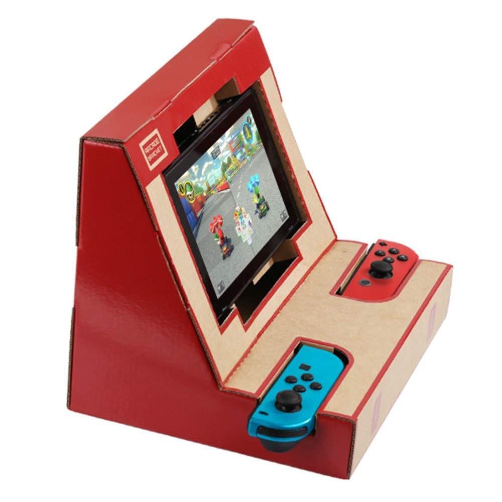 Shanyaid 2019 Soporte de Caja DIY Soporte de cartón Arcade Bracket para Nintendo Switch: Amazon.es: Hogar