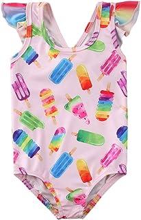 mettime Baby Girl Watermelon Swimsuit Toddler Newborn Swimwear Infant Bikini One Pieces