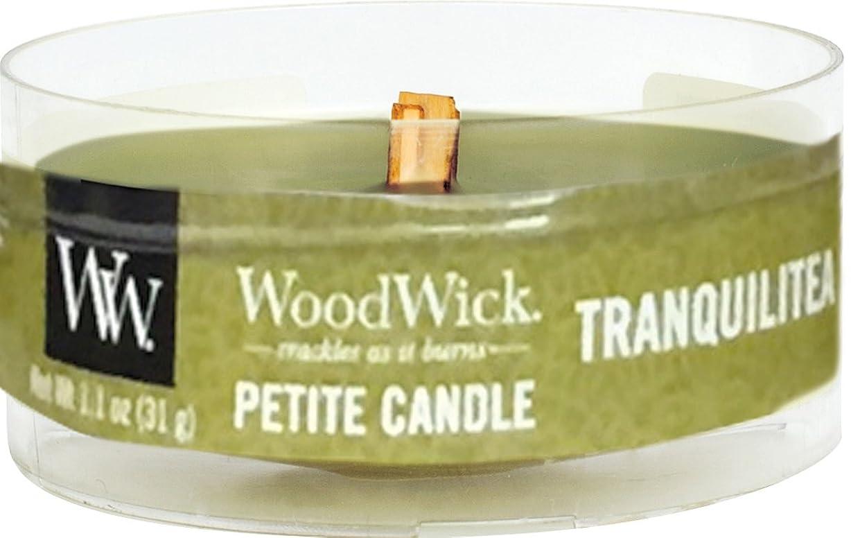 鎮静剤プレミア疑い者Wood Wick ウッドウィック プチキャンドル トランクィリティ