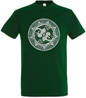 Urban Backwoods Viking Shield II Camiseta De Hombre T-Shirt