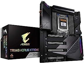 GIGABYTE TRX40 AORUS Xtreme (sTRX/AMD/TRX40/Fins-Array Heatsink/16+3 Phases Infineon Digital VRM/Gen 4 AIC with 4 X M.2 NV...